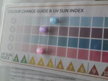 UV Experiment 1
